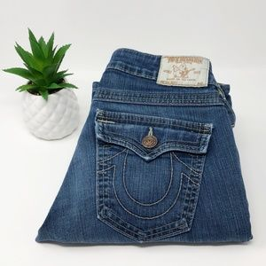 True Religion Becky Bootcut Jeans Blue Size 28